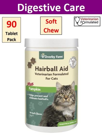 Hairball Aid For Cats Soft Chews 90pcs Image