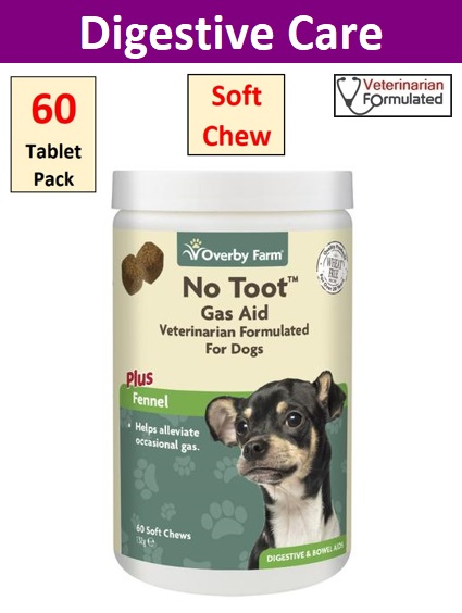 No Toot For Dogs Soft Chews 60pcs Image