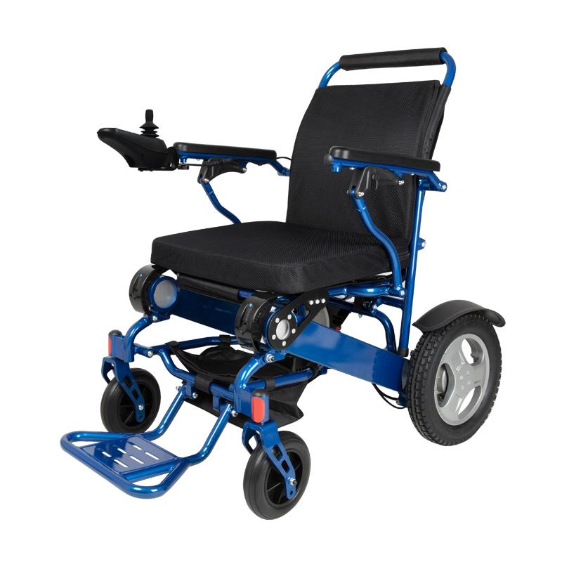 D09 - Folchair - Lightweight Folding Electric Wheelchair Image