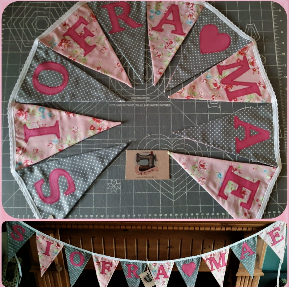 Personalised Bunting SIOFRA ❤ MAE Image