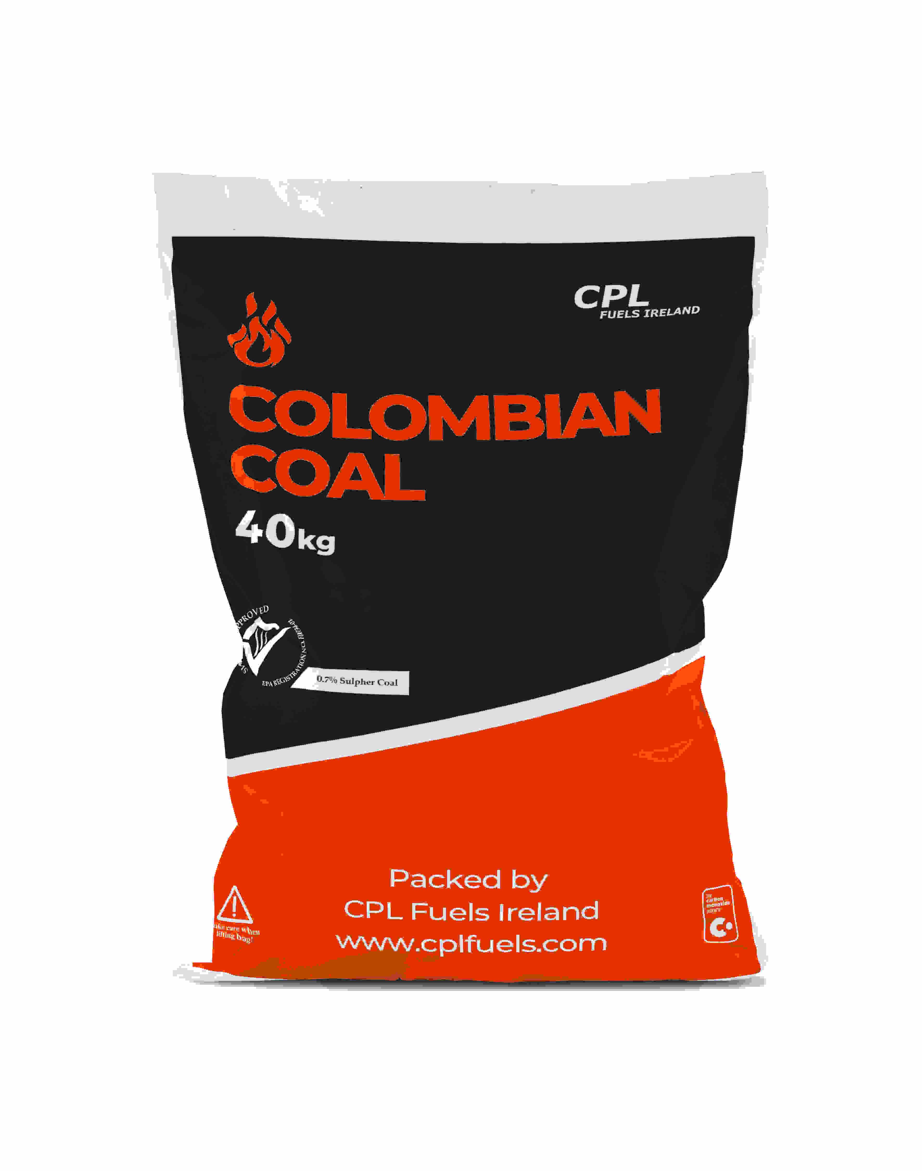 6 x Colombian coal 40kg Image