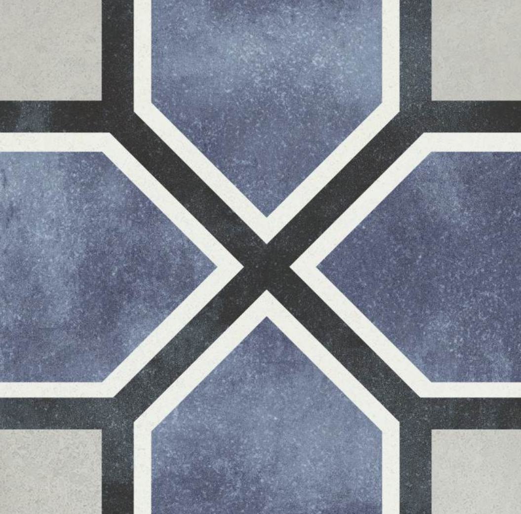 Antonette Pattern Tile 15 x 15 Image