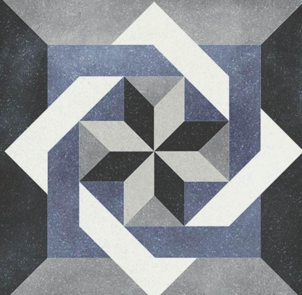 Isabelle Pattern Tile 15 x 15 Image