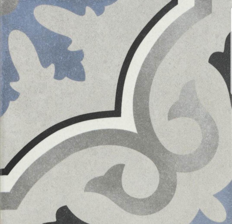 Lou Lou  Pattern  Tile 15 x 15 Image