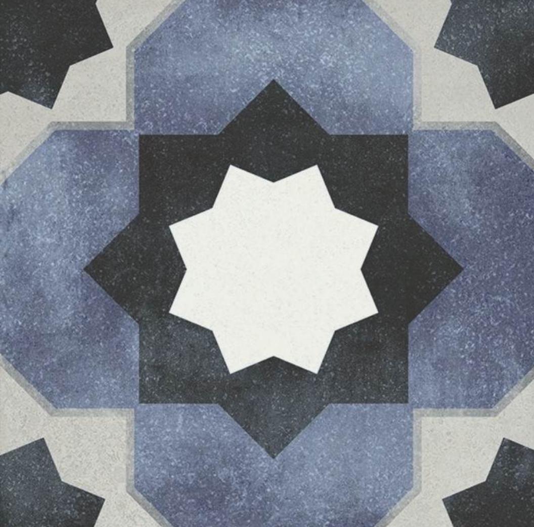 Janette Pattern Tile 15 x 15 Image