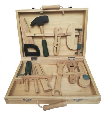 Egmont Wood Tool Box Image