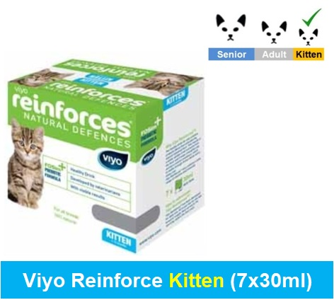 Viyo Reinforce Kitten (Qty 1 x (7 x 30ml)) Image