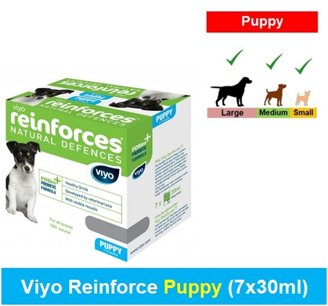 Viyo Reinforce Puppy (Qty 1 x (7 x 30ml)) Image