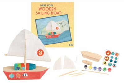 Make and Paint your own Boat Image