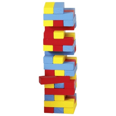 Colourful Mini Tumbling Tower Image