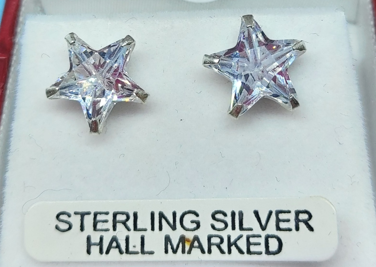 Sterling Silver Star Studs  Image
