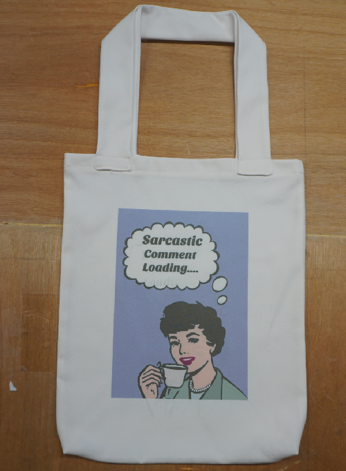 Quirky Tote Shopping Bags Image