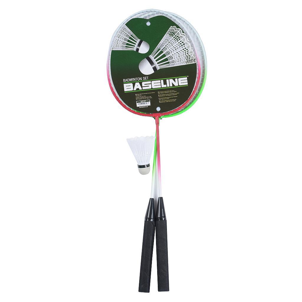 Baseline 2 Player Badminton Racket Set  Image