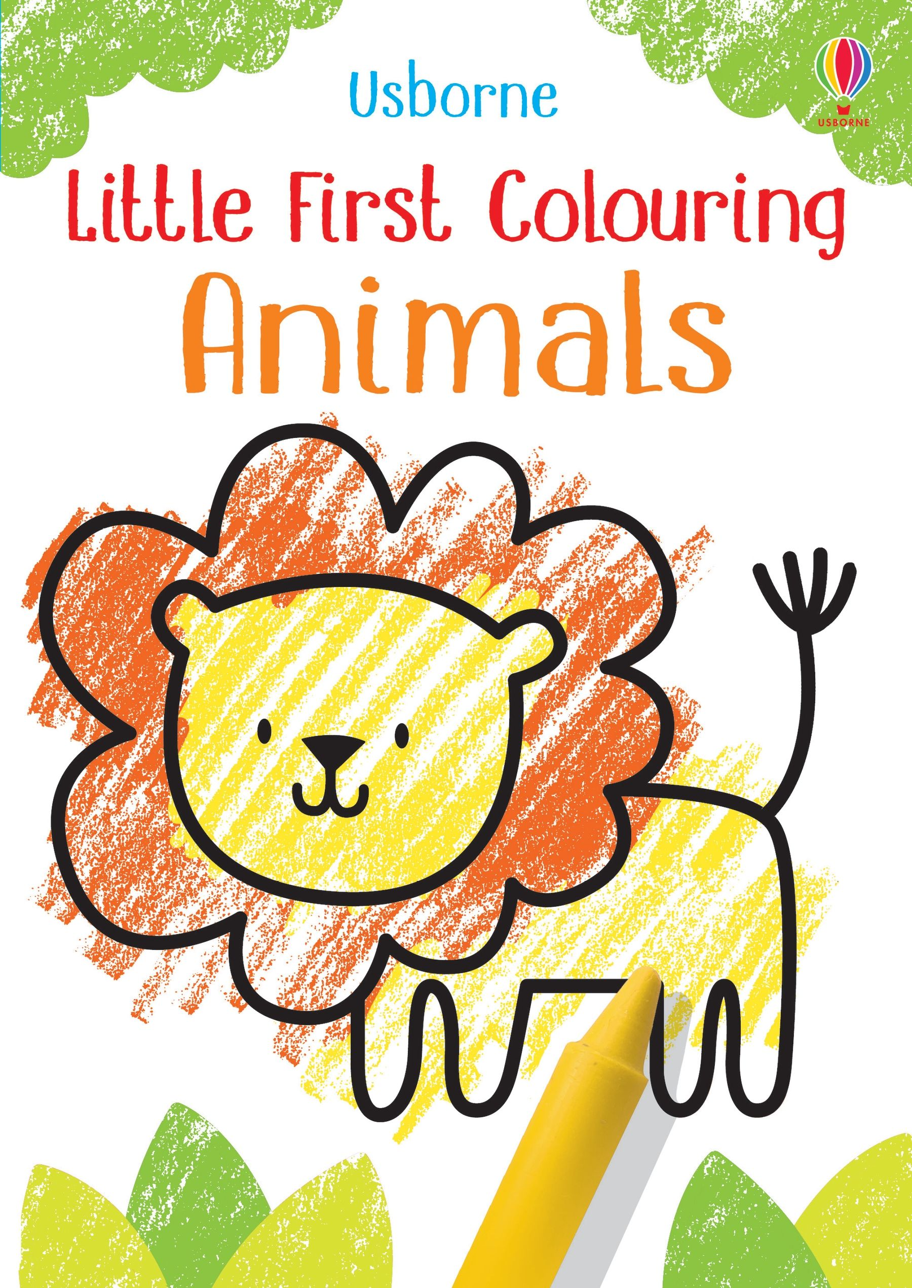 Animals Little First Colouring Image