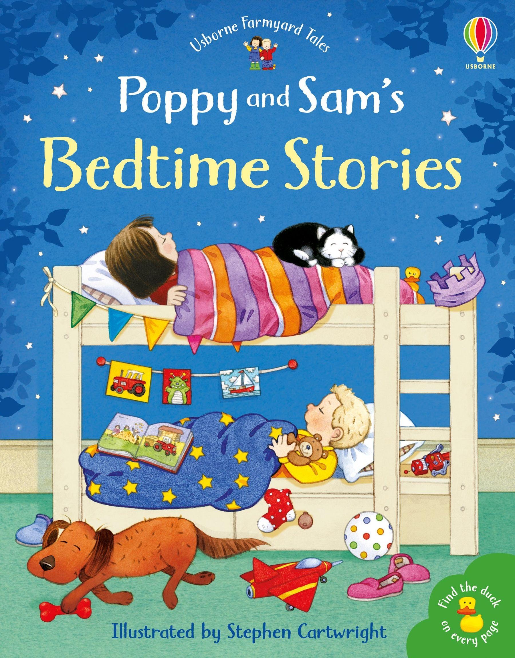 Poppy and Sam's Bedtime Stories Image