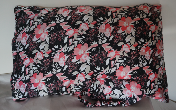 Floral Silk Pillowcase with Eye mask Image