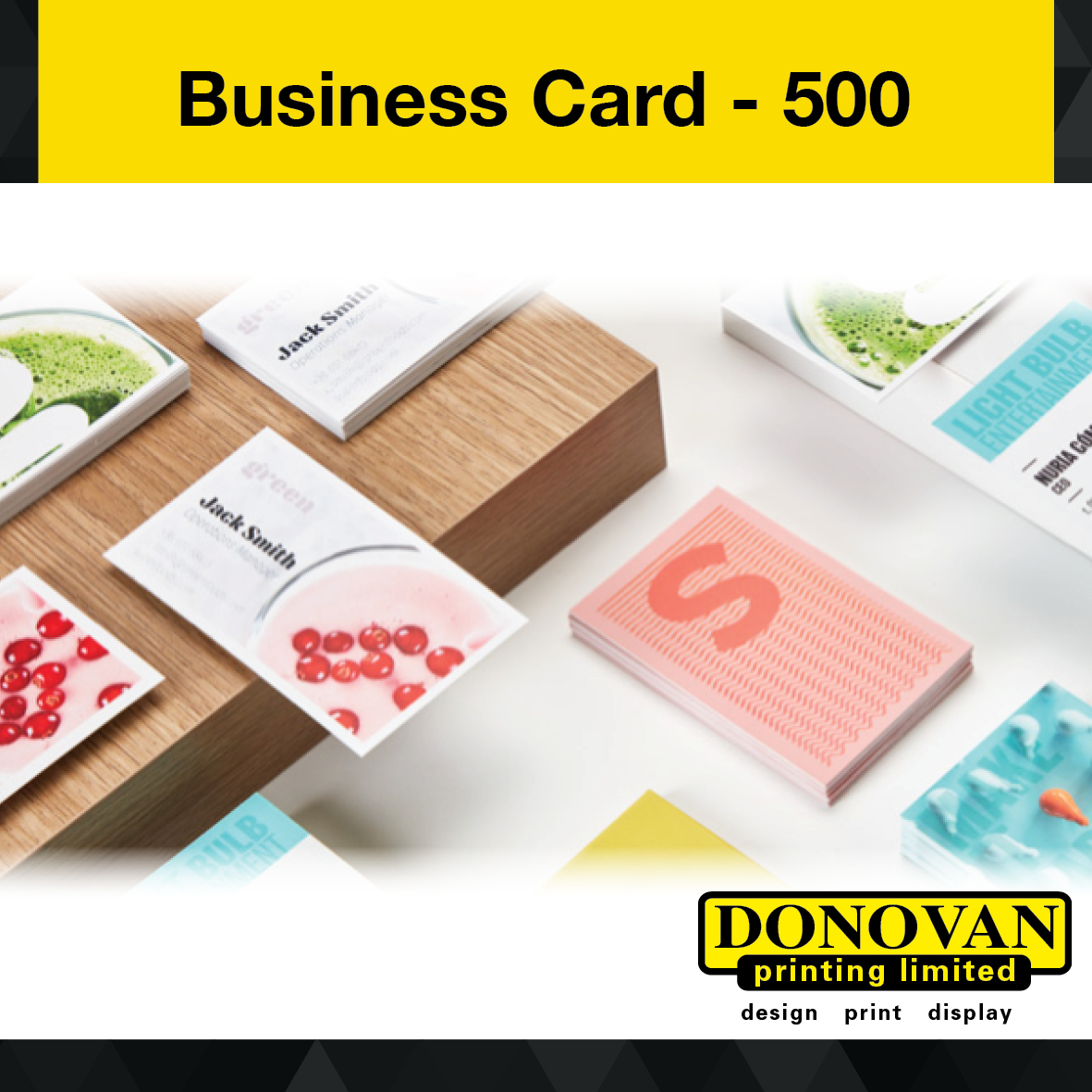 Business Cards 500 Image
