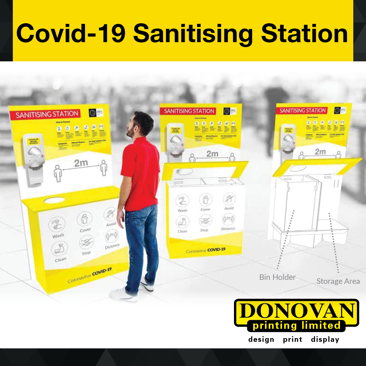 Covid Sanitising Station Small Image