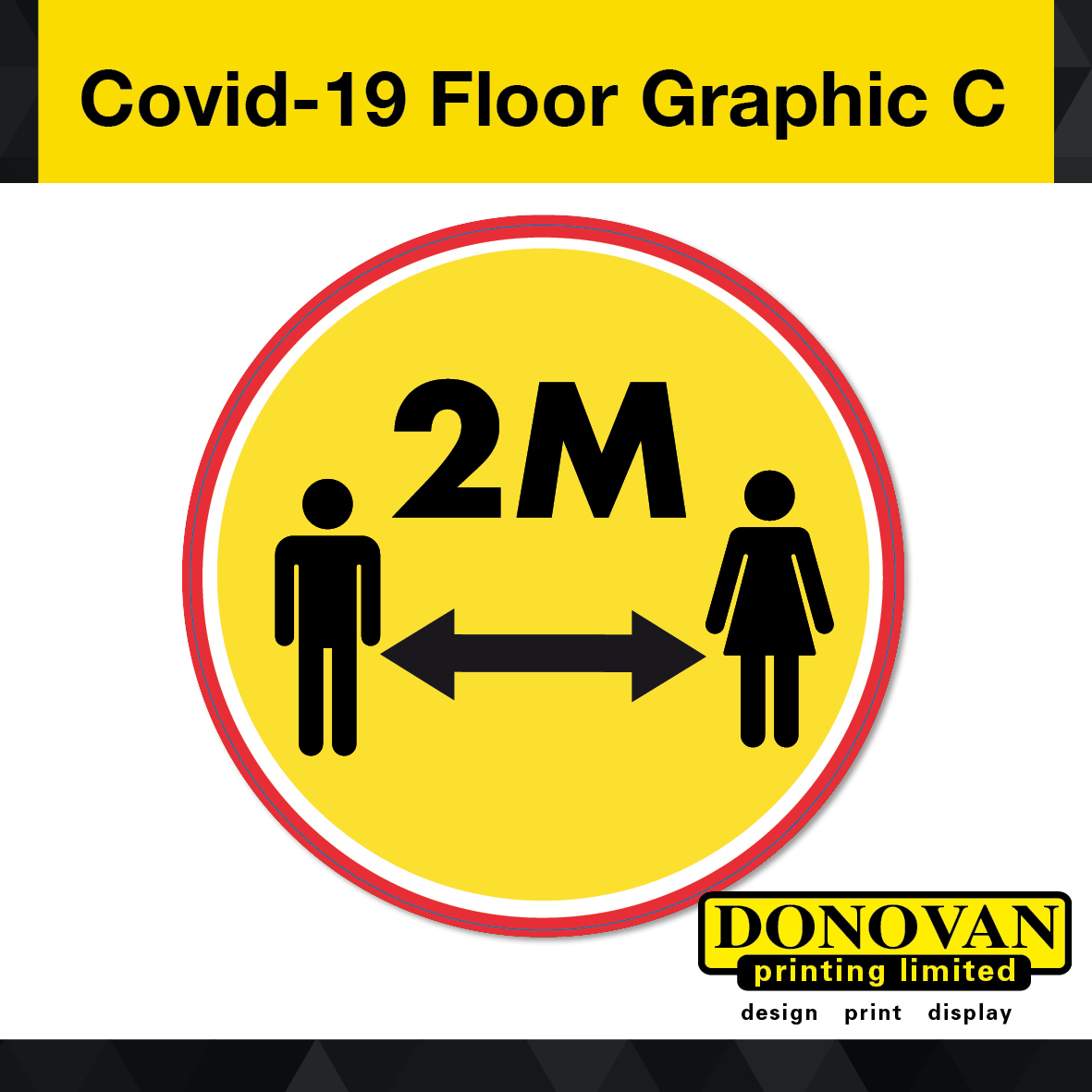 Covid Floor Graphic C Image