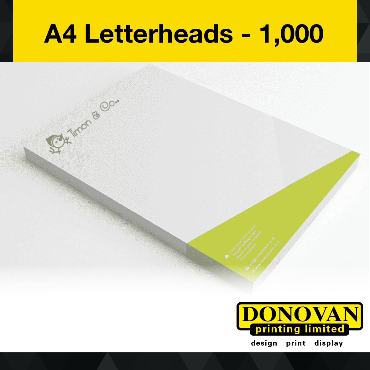 A4 Letterheads 1,000 Image