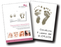 Inkless Hand and Foot Print Kit Image