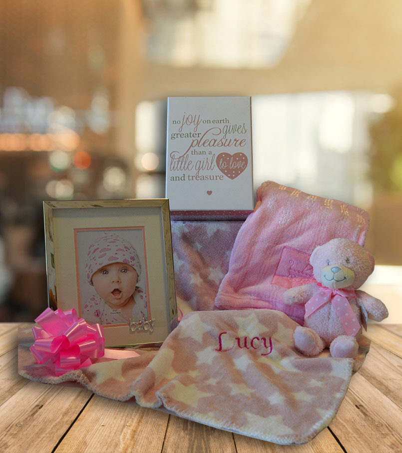 Beautiful Baby Girl Hamper Image