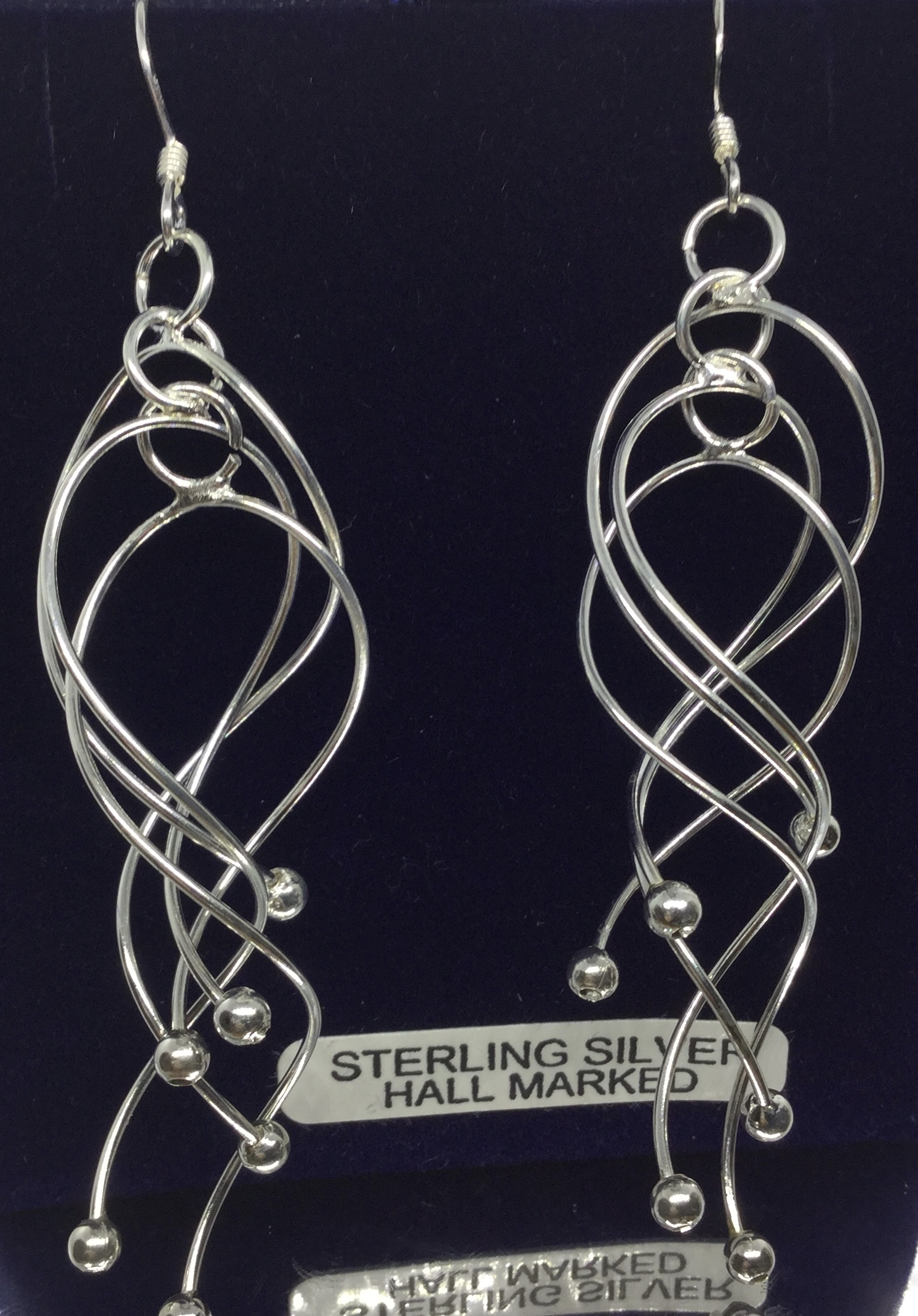 Sterling Silver Dramatic Earrings  Image