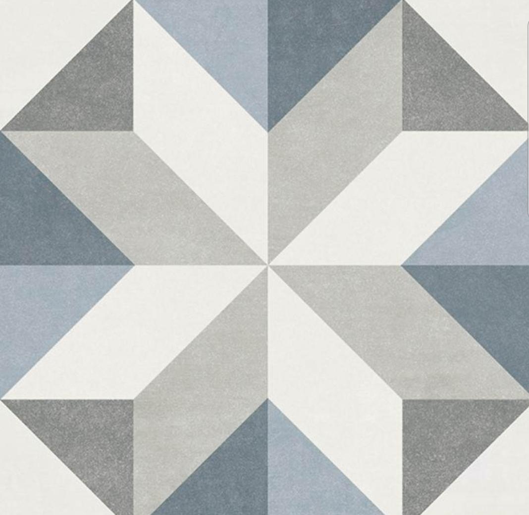 Gina Pattern Tile 15 x 15 Image