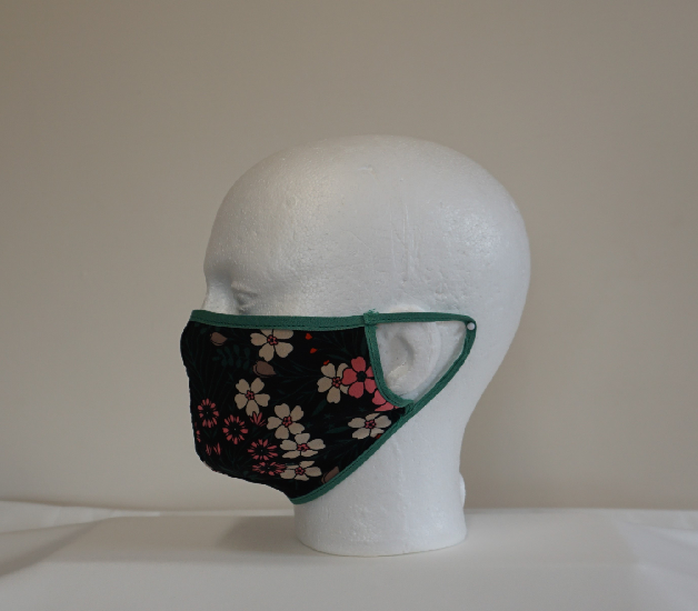 Floral Patterned Face Mask Image