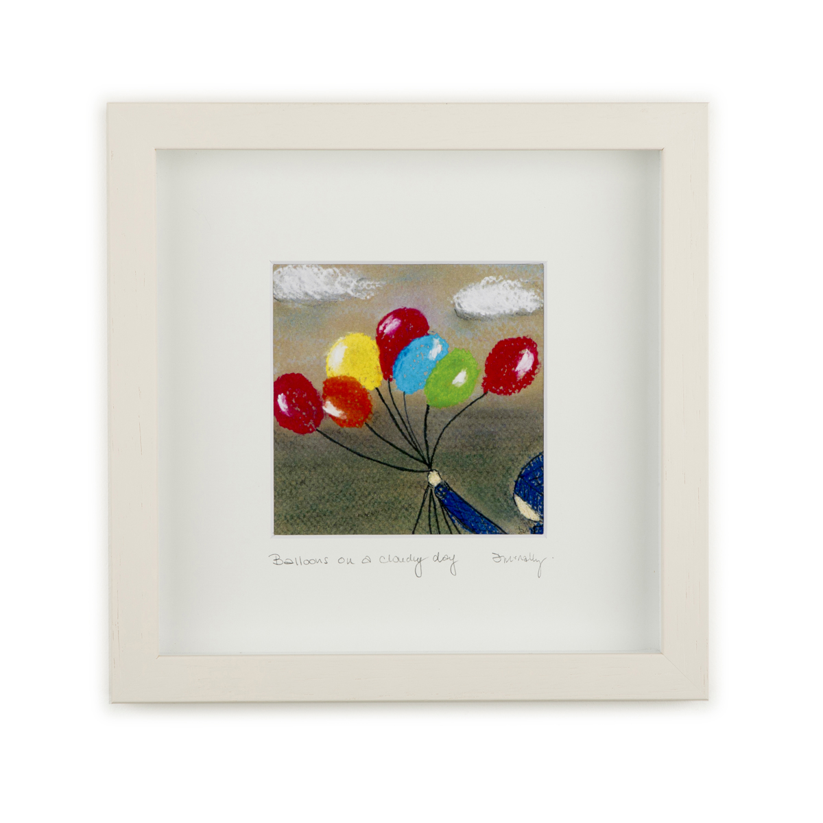 Balloons on a grey day Image