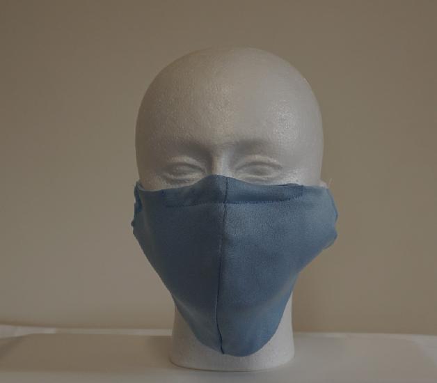 Silk Satin Fabric Face Mask Image
